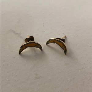 Charger colt earrings.